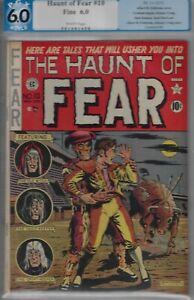 HAUNT OF FEAR #10-PGX 6.0- FINE EC HORROR COMIC 1951