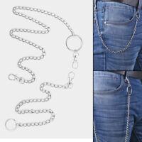 Metal  Rock Hip Hop Jewelry Wallet Chain Belt Key Chains Clip Pants KeyChain