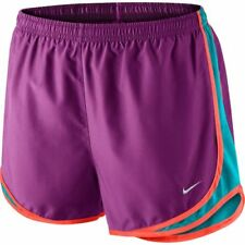 NIKE Women's Dri-FIT Tempo Running Shorts 624278-557 Cosmic Purple Size L