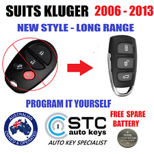 SUITS TOYOTA KLUGER CAR REMOTE KEY FOB 2006 2007 2008 2009 2010 2011 2012 2013
