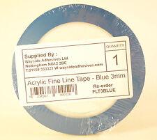 Acrylic Fine Line Masking Tape 3mm Hi Temp Fineline x 1