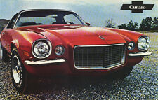 "Vintage 1971 Camaro SS396 Z/28 Factory Issued Sales Brochure (POSTER) 11""x18"""