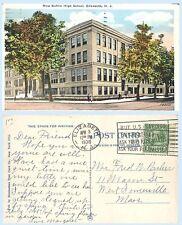 New Battin High School Elizabeth New Jersey Building Postcard Architecture