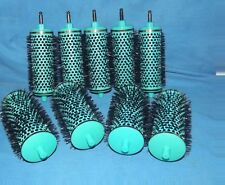 9 BODY UP PANACHE HAIR STYLING CURLERS ROLLERS & HANDLE 4 MEDIUM & 5 SMALL NEW