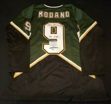 MIKE MODANO DALLAS SIGNED AUTHENTIC STYLE JERSEY COA BAS BECKETT 100%REAL AUTO 1