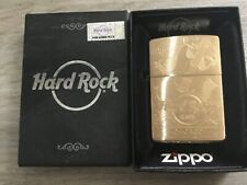 ZIPPO BRASS HARD ROCK CAFE CHICAGO