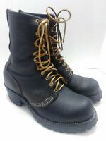 WESCO USA Vintage Jobmaster Work Hunting Oiled Leather Lineman Boots Mens 8.5