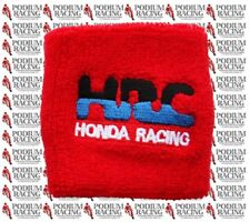 HONDA RACING HRC CBR-RR 600 900 1000 BRAKE RESERVOIR COVER IN RED