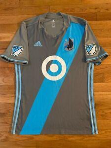 Minnesota United FC Loons MNUFC Adidas Climalite '18 Sz L Mens MLS Soccer Jersey
