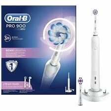 Oral-B PRO 900 Sensi UltraThin Electric Toothbrush Sensitive Clean with 2 Heads