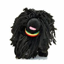 fabdog Puli Rasta Dog Squeaky Toy