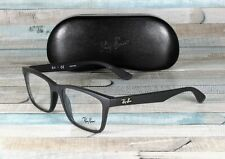 RAY BAN RX7025 2077 Matte Black Demo Lens 53 mm Men's Eyeglasses