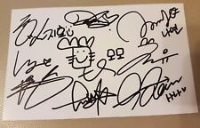 TWICE signed official authentic Running Man Mission card  /rare photo card