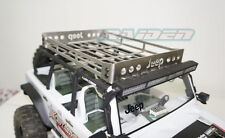 1/10 Crawler Stainless Steel Truck Roof Luggage Tray Rack for SCX10 JEEP Body