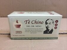 60 BAB*4 BOX TE CHINO del DR MING, colageina10, cre-c,renuee, pina,bacticure tea