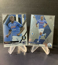 Victor Osimhen,Napoli Talented Rookie from Panini Chronicles & Mosiac Lot