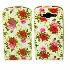 Rose Flower Leather Vertical Flip Case Cover For Samsung Galaxy S3 III i9300