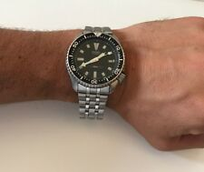 Seiko Scuba Diver's Watch 7002-7000 A1 Stainless Steel Date, Running Strong!
