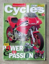 PERFORMANCE CYCLES 1994 - LAVERDA ALCHEMY ZXR DUCATI 900 BMW R1100 CBR VINCENT