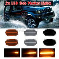 Dynamic LED Side Marker Turn Signal Light Indicator Lamp For Suzuki Jimny  D*//