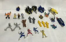 1990s Vintage ? MMPR Power Rangers, Robots, Micro Machines Mini Figures 1991-95