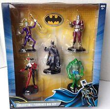 Batman Collectible Figurines Box Set Batman, Harley Quinn, Joker + -DC COMICS