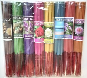"""Special Incense Sticks 8"""" Aroma Premium Nature (8 Scents/ Pack) Made in Thailand"""