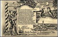 NEUHAMMER Queis Świętoszów Schlesien um 1915 Truppen Übungsplatz Militaria Motiv