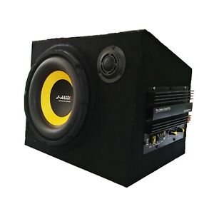 200W 10 inches subs with box and amp car Subwoofer ,bass subwoofer car audio act
