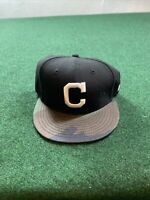 New Era 9fifty SnapBack Chicago Cubs Hat Black Camo Lid Fresh Fast Shipping