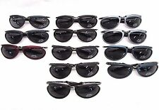 54de495ebd Motorcycle Biker Sunglasses Cyclist Wrap around lens Oval Cool lot of 12