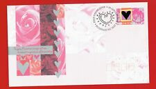 Australia 1995 Hearts and Roses on First Day Cover. Beautiful and Scarce