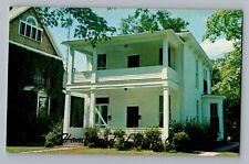 Zanesville Ohio OH Zane Grey Home Convers Avenue Postcard 1950s