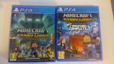 Minecraft Story Mode L'Aventure complète + Minecraft Story Mode Saison 2 / PS4