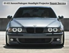 BOTH Sides Xenon Headlight Projector Adjuster BMW E39 REPAIR SERVICE (No Baking)