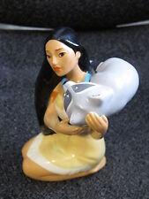 Disney  Pocahontas & Meeko  The  Racoon  Ceramic  Figurine