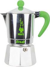 BIALETTI - Caffettiera Break 3 Tazze Verde