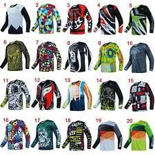 Men's MTB Downhill Jersey Long Sleeve Motocross Off Road MX Mountain Bike Shirt