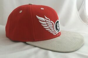 Global Baseball Trucker Cap Red Summer Hat  Adults One Size Unisex Adjustable