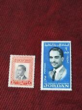 Worldwide stamps Jordan mnh