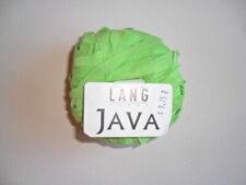 Lang Yarns JAVA - Color #0017 Mint Green - 80 Meters - Retail $9.75