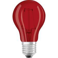 Ampoule LED GLS 2w ES E27 - ROUGE (Ledvance)