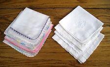 Vintage Handkerchief Hankies ~ U PICK ~ Set of 5 ~