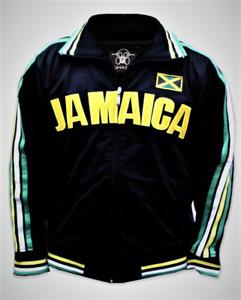 Jamaica Ghast Olympics Soccer Futbol Adult Men's Track Jacket BNWT Bolt