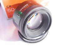SONY 50mm F1.4 AF pour Alpha 99, 900, 77 ou A 7, A7 R, A9 via bague Sony