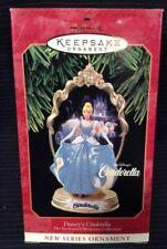 1997 Hallmark Keepsake Ornament Disney's Cinderella 1st in Series MIB