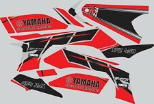 Graphics for 2003-2008 Yamaha YFZ450 YFZ 450 Red ATV decals stickers