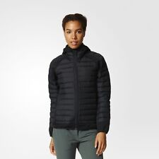 NEW WOMEN'S OUTDOOR HYBRID DOWN HOODED WINTER JACKET HOODIE SZ/ SMALL