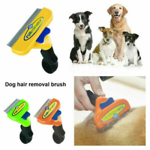 Cats Dogs Brush Furminator DeShedding Tool Grooming Rake Comb Long Short Hair UK