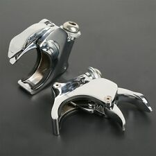 Detachable 49mm Windshield Clamps For Harley Dyna Street Fat Bob Wide Glide 06+